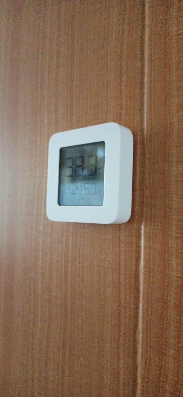小米(MI)米家蓝牙温湿度计2家用室内浴室多功能数显温湿度计小米蓝牙温湿度计2代