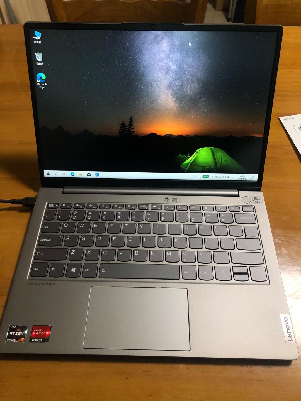 联想ThinkBook 13s锐龙版,13.3英寸轻薄本长续航