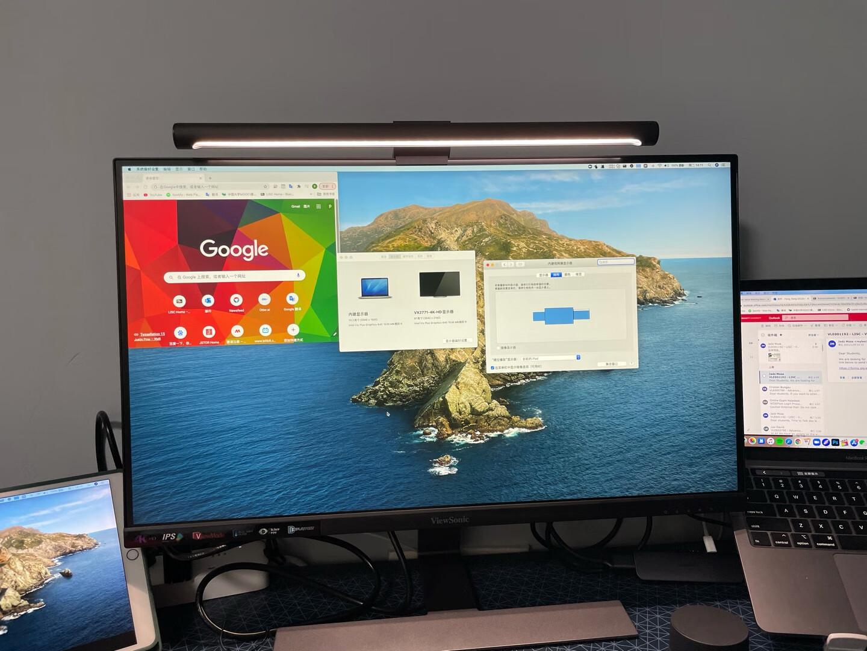 优派27英寸高清4K显示器,微边IPS显示屏