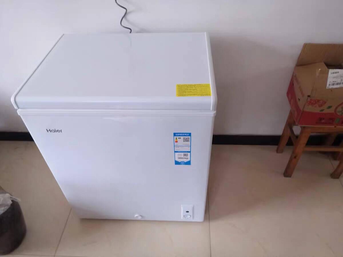 海尔Haier143升家用冰柜冷藏冷冻转换冷柜节能单温冰箱BC/BD-143HDB