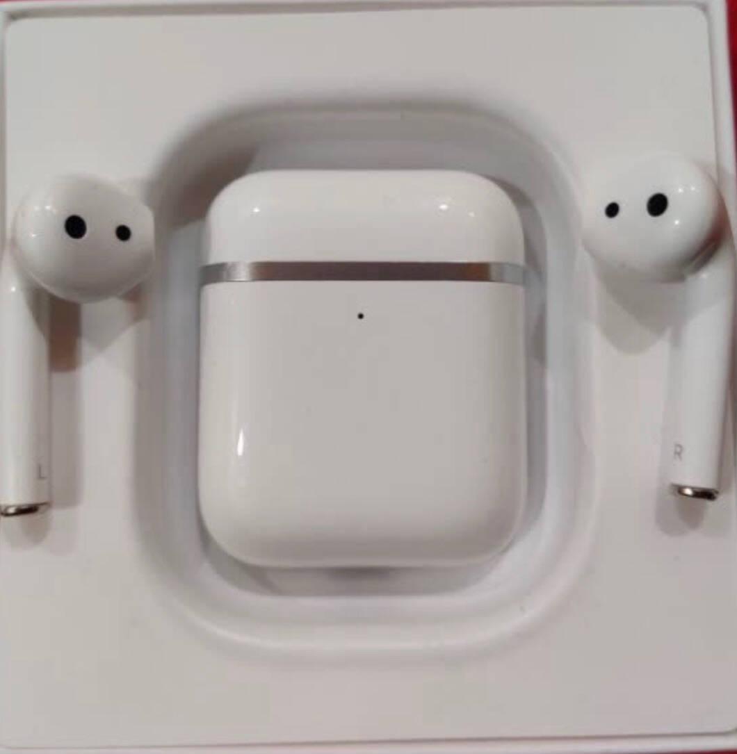 京鱼座真无线蓝牙耳机S2TWS半入耳式立体声游戏运动无线充电苹果华为OPPO小米Vivo通用白色