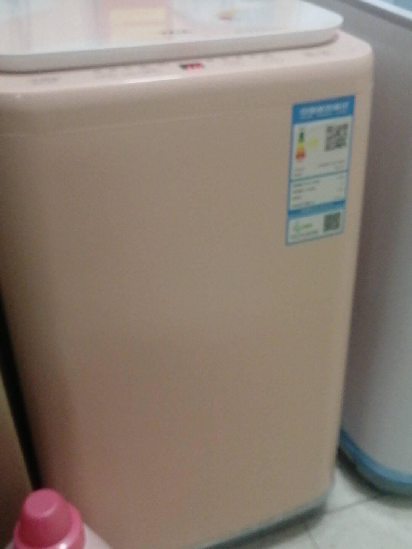 TCL6公斤全自动波轮小洗衣机一键脱水10种洗涤程序XQB60-21CSP亮灰色