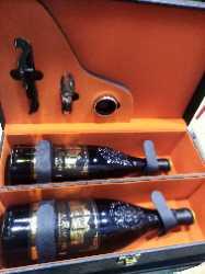 维诺卡夫(Vinocave)红酒皮盒端午中秋新年送礼红酒礼盒包装盒双支装(不含酒)