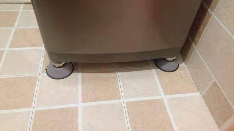 洗衣机底座防滑防震脚垫滚筒波轮通用型增高减震脚架海尔专用固定脚架托架置物架吸盘增高巨稳脚垫【4个装】