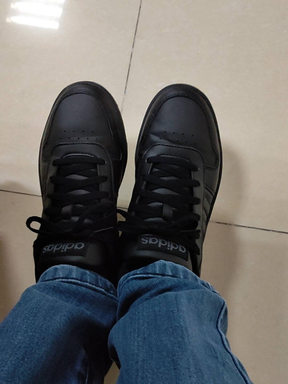 阿迪达斯官网adidasneoHOOPS2.0男子休闲运动鞋EE74221号黑色42(260mm)
