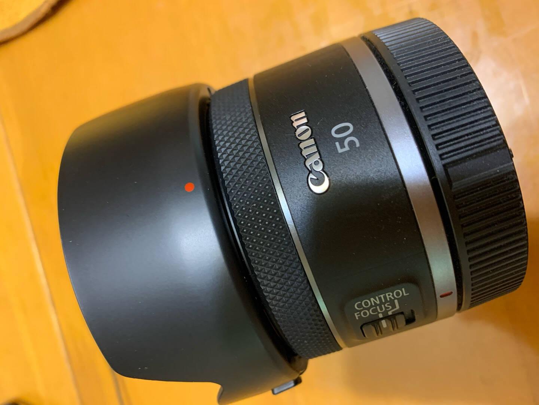 JJC佳能ES-65B遮光罩适用RF50mmF1.8STM小痰盂镜头RPR6相机保护配件莲花型黑色