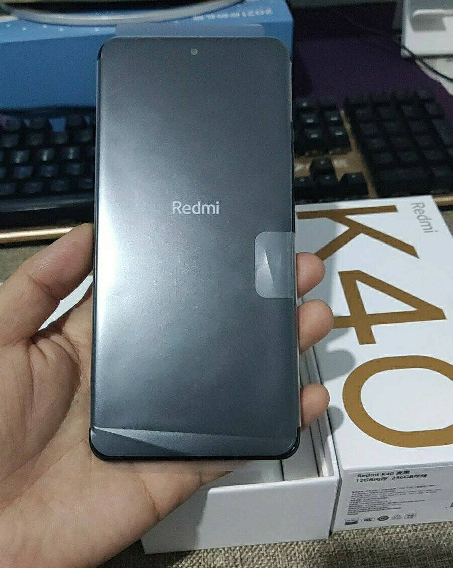 RedmiK40全网通8GB墨羽128GB