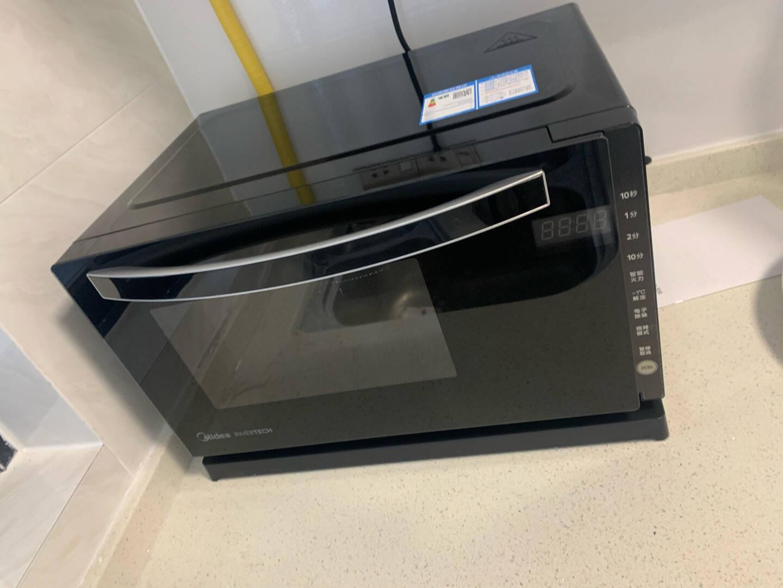 美的(Midea)智能变频微波炉光波炉烤箱微烤一体机小型家用20L升800WM3-208E新品