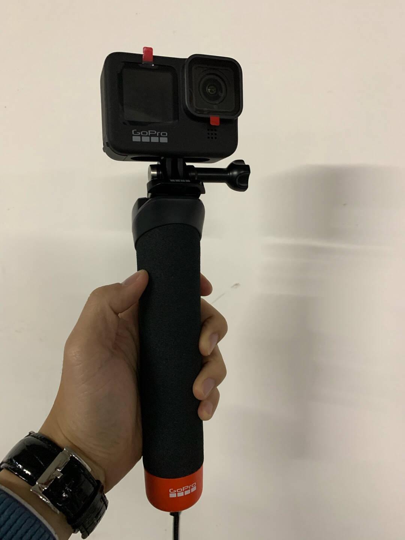 GoProHERO9Black运动相机5K骑行Vlog摄像机户外摩托车拍摄照相机官方标配