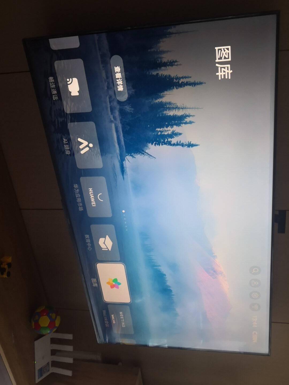 【搭载HarmonyOS2】华为智慧屏SE55英寸畅连通话版超薄全面屏4K超高清智能液晶电视机HD55DESY