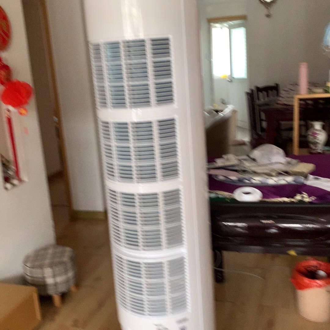 格力(GREE)空调云逸Ⅱ2匹新一级能效变频冷暖自清洁智能WiFi大风量客厅圆柱立式柜机2匹KFR-50LW/NhGm1BAj