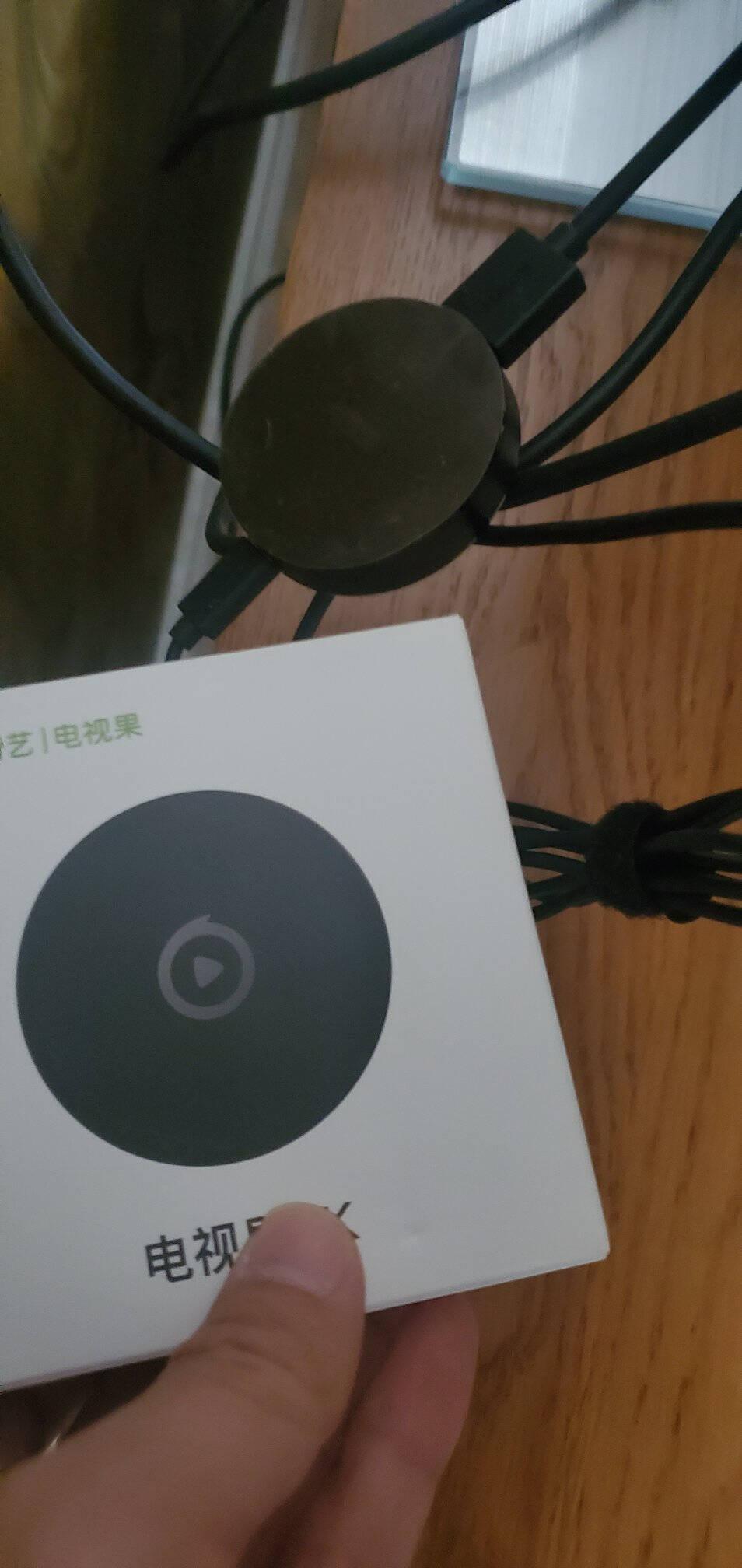 电视果4GAI人工智能投屏器4K高清增强版+4G上网弹幕投屏手机无线同屏器苹果安卓通用(含爱奇艺会员月卡)