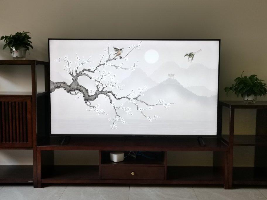 荣耀智慧屏75英寸液晶电视,多屏协同更方便