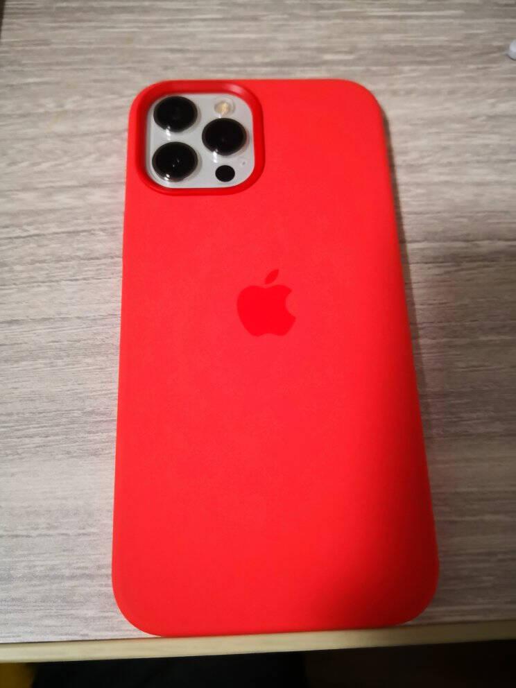 AppleiPhone12ProMax专用原装Magsafe硅胶手机壳保护壳-海军蓝色