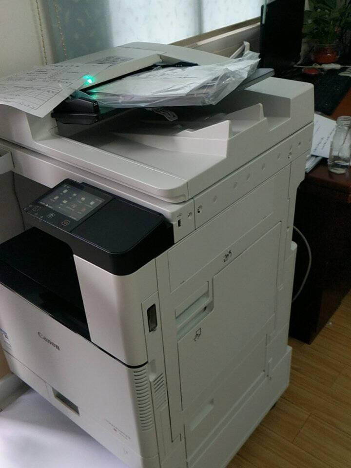 佳能(Canon)C3120/3125/3720A3A4激光无线网络大型彩色打印复印扫描多功能一体机C3120L双纸盒+输稿器