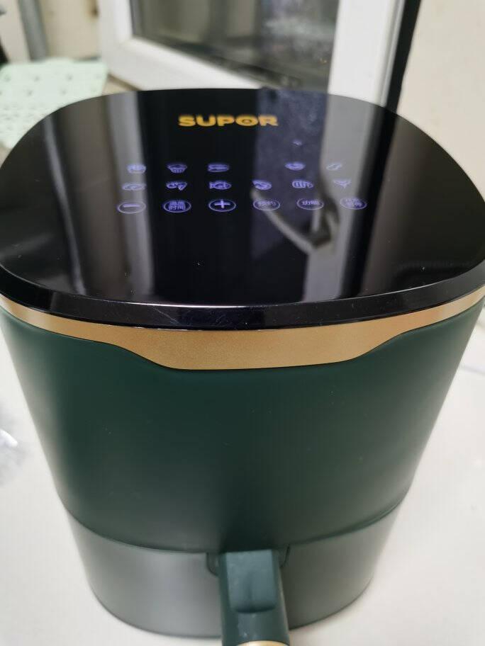 苏泊尔(SUPOR)空气炸锅家用3L大容量电炸锅蒸汽嫩炸多功能无油烟煎炸薯条机烤箱KD30DQ815【王源同款】