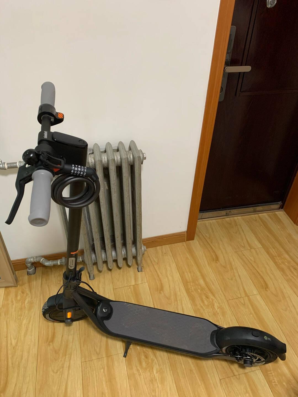 Ninebot九号电动滑板车F系列座椅可调节折叠带减震加厚座椅