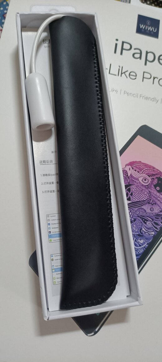 wiwuipad电容笔applepencil防误触控屏手写笔2020air4/pro七代七代pencil【磁吸式充电防误触写小字倾斜压感】