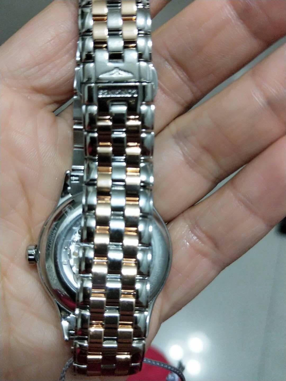 浪琴(Longines)瑞士手表军旗系列机械钢带女表L43743997