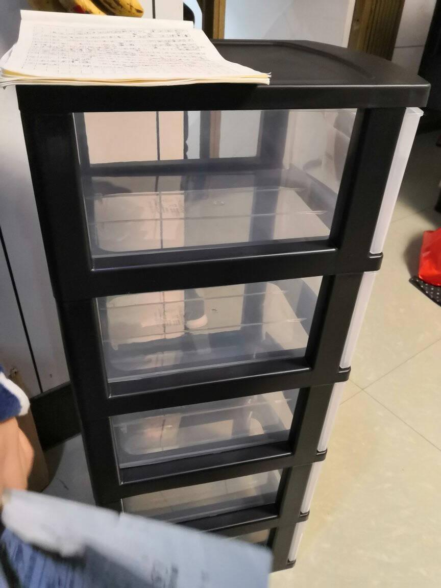 禧仕多宝宝玩具收纳柜厨房夹缝收纳柜儿童衣柜零食收纳箱浴室储物柜5层