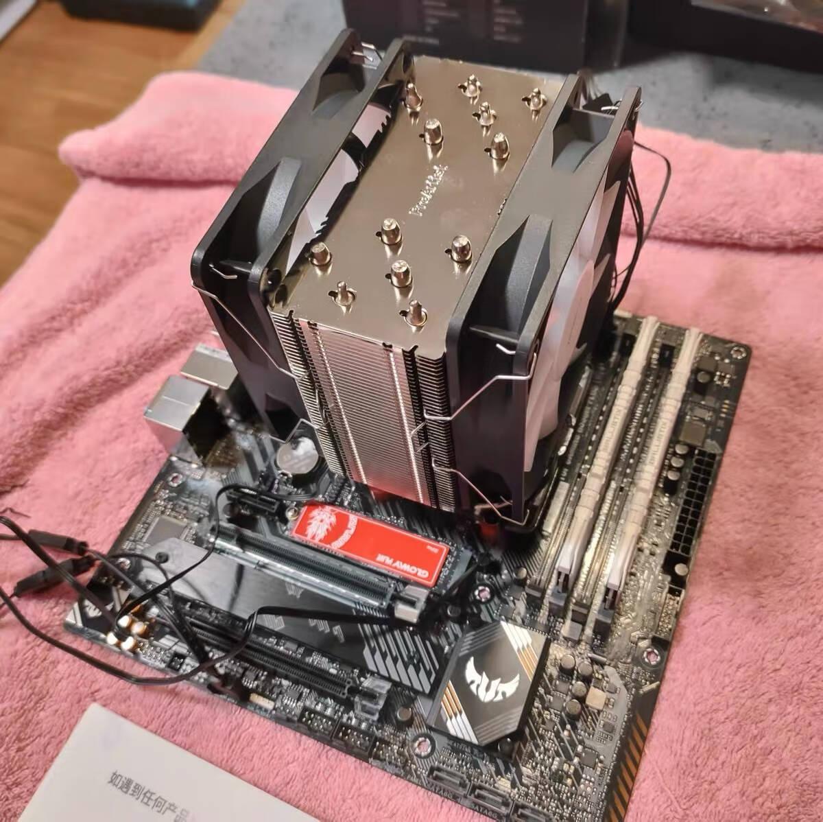 AMD锐龙R5/R73500X3600X5600X5800X搭华硕B450B550主板CPU套装华硕TUFB450M-PROS重炮手单主板(不包含CPU)