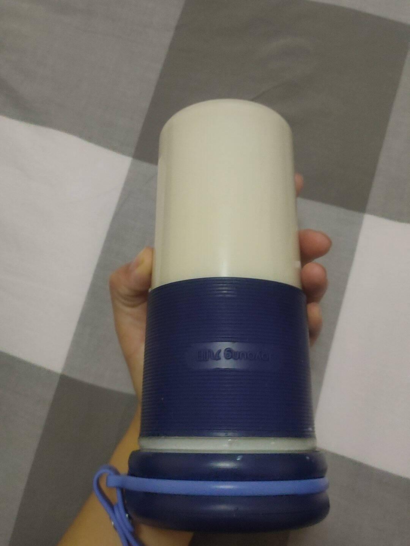 九阳Joyoung榨汁机便携式网红充电迷你无线果汁机榨汁杯料理机随行杯L3-LJ2520榛果色
