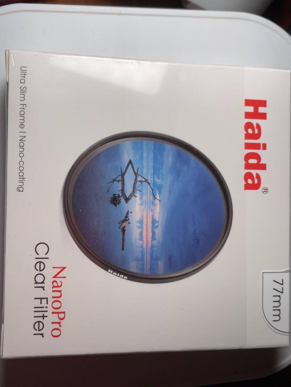 Haida海大NanoProUV镜薄款双面镀膜Clear镜头滤镜保护镜UV58/72/77/82m77mm