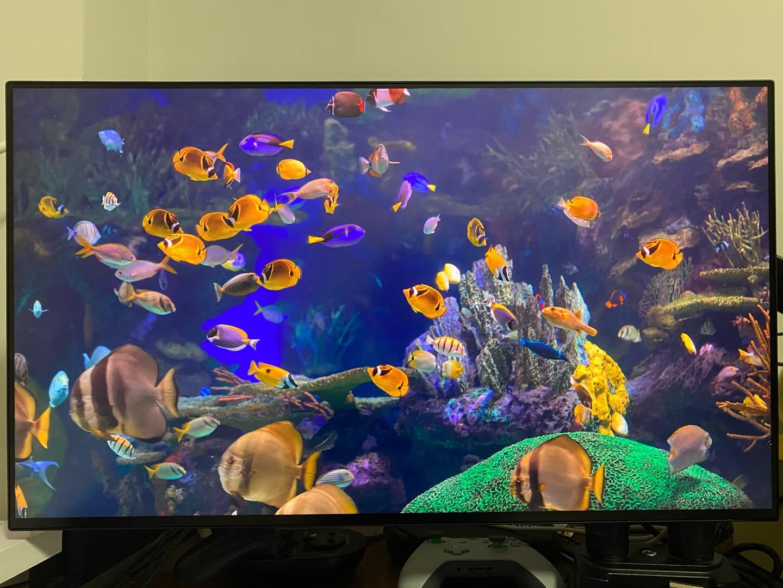 LG高端4K电竞显示器,27英寸玩游戏大牌款