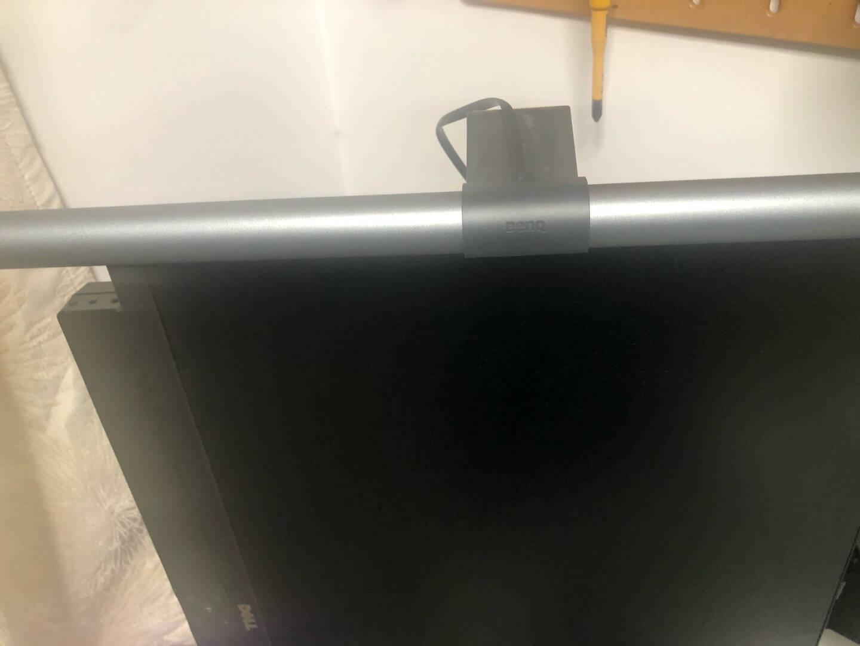 明基(BenQ)ScreenBarHalo屏幕挂灯商务办公学习氛围游戏电脑显示器挂灯非对称光源led无线控制(碳咖色)