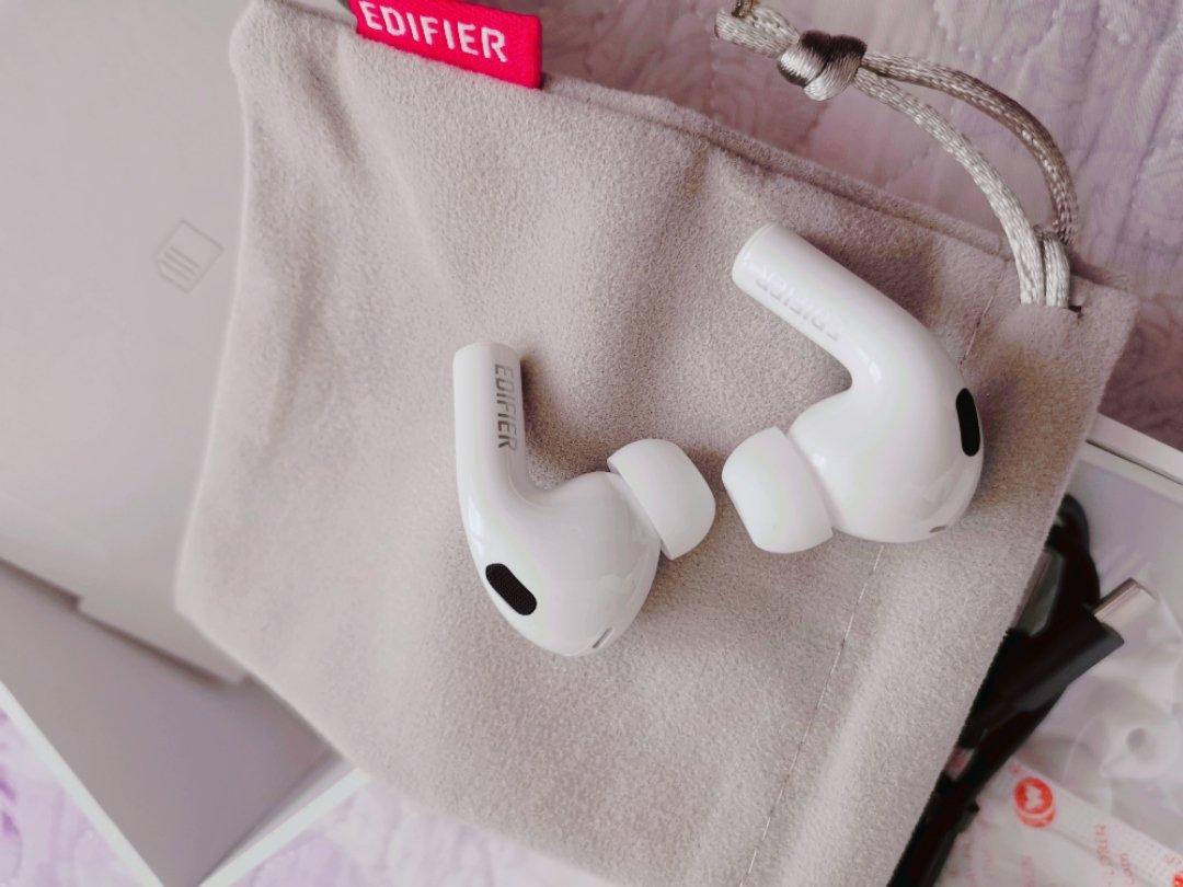 漫步者LolliPods Pro降噪蓝牙耳机,300元左右送女朋友音乐礼物