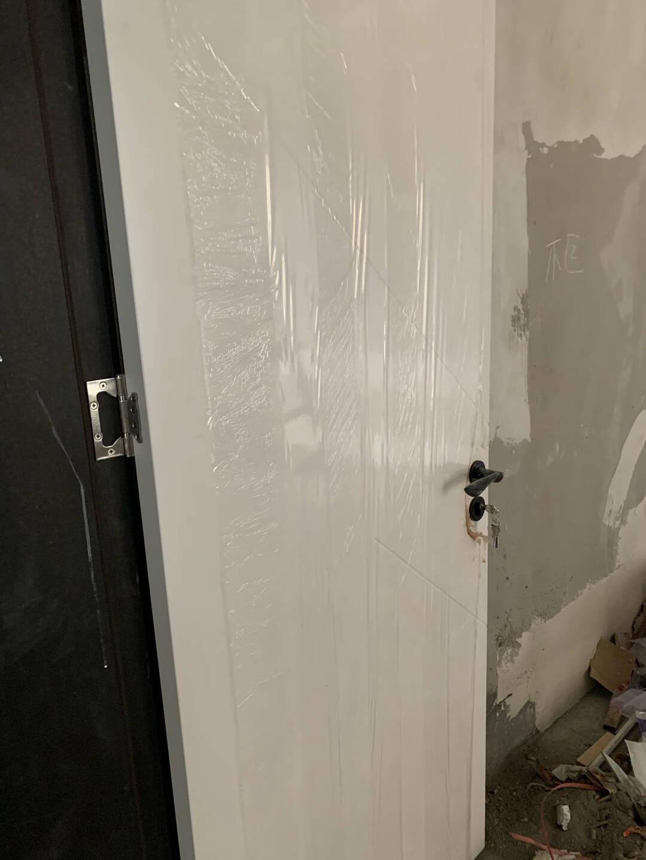 Mexin美心蒙迪木门实木复合免漆简约室内门套装门卧室门房间门木门N727定制尺寸