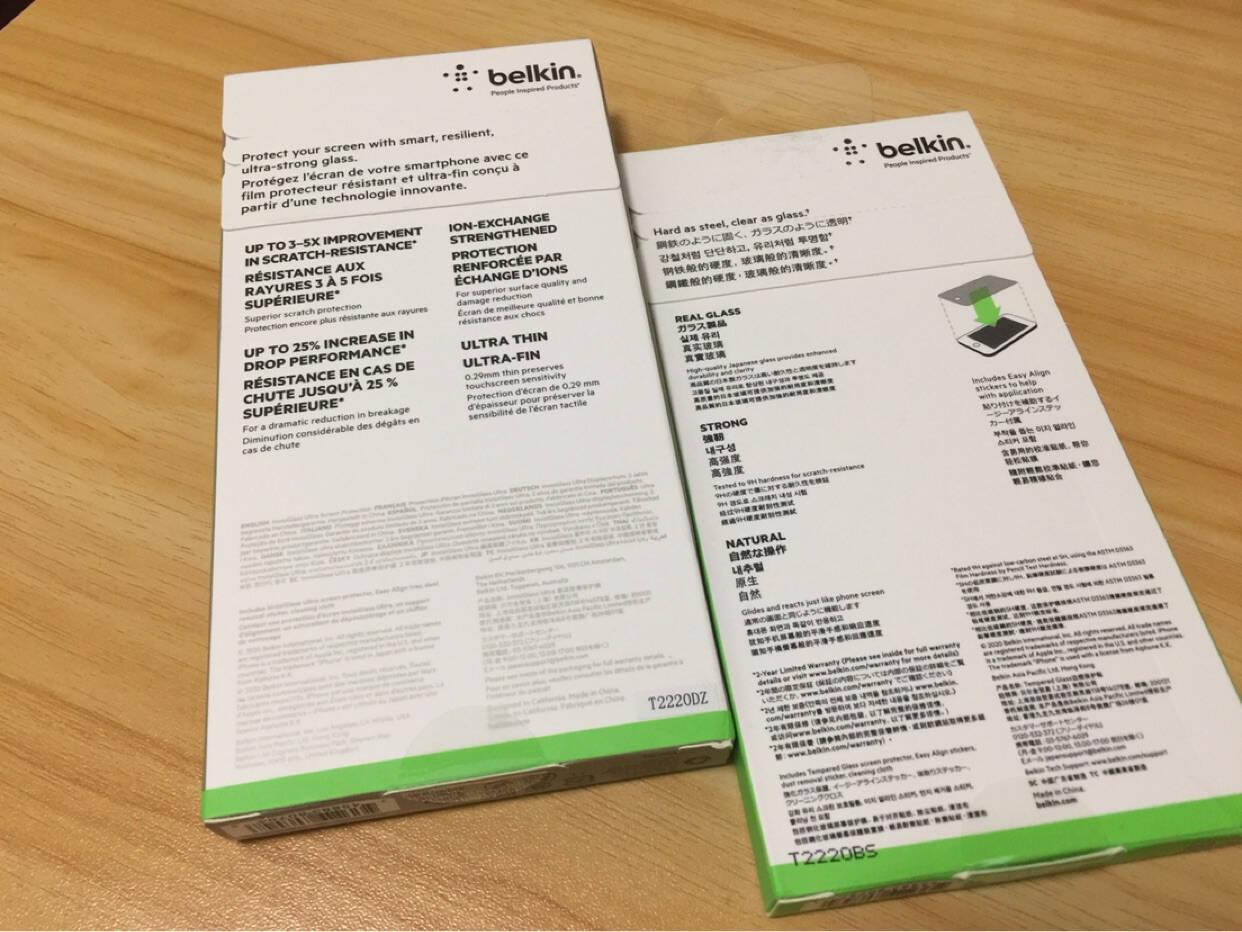 贝尔金(BELKIN)苹果手机钢化玻璃膜iPhoneSE/7/6s/8防摔防指纹手机游戏屏幕贴膜INVISIGLASSULTRA加强硬度