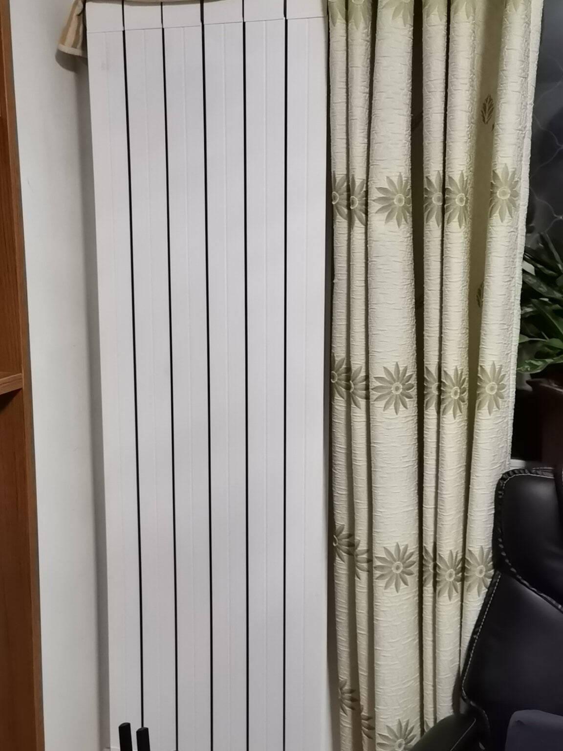 勃森散热器BOULSEN铜铝复合暖气片家用水暖壁挂式75*75定制产品(4片起订)1800MM高