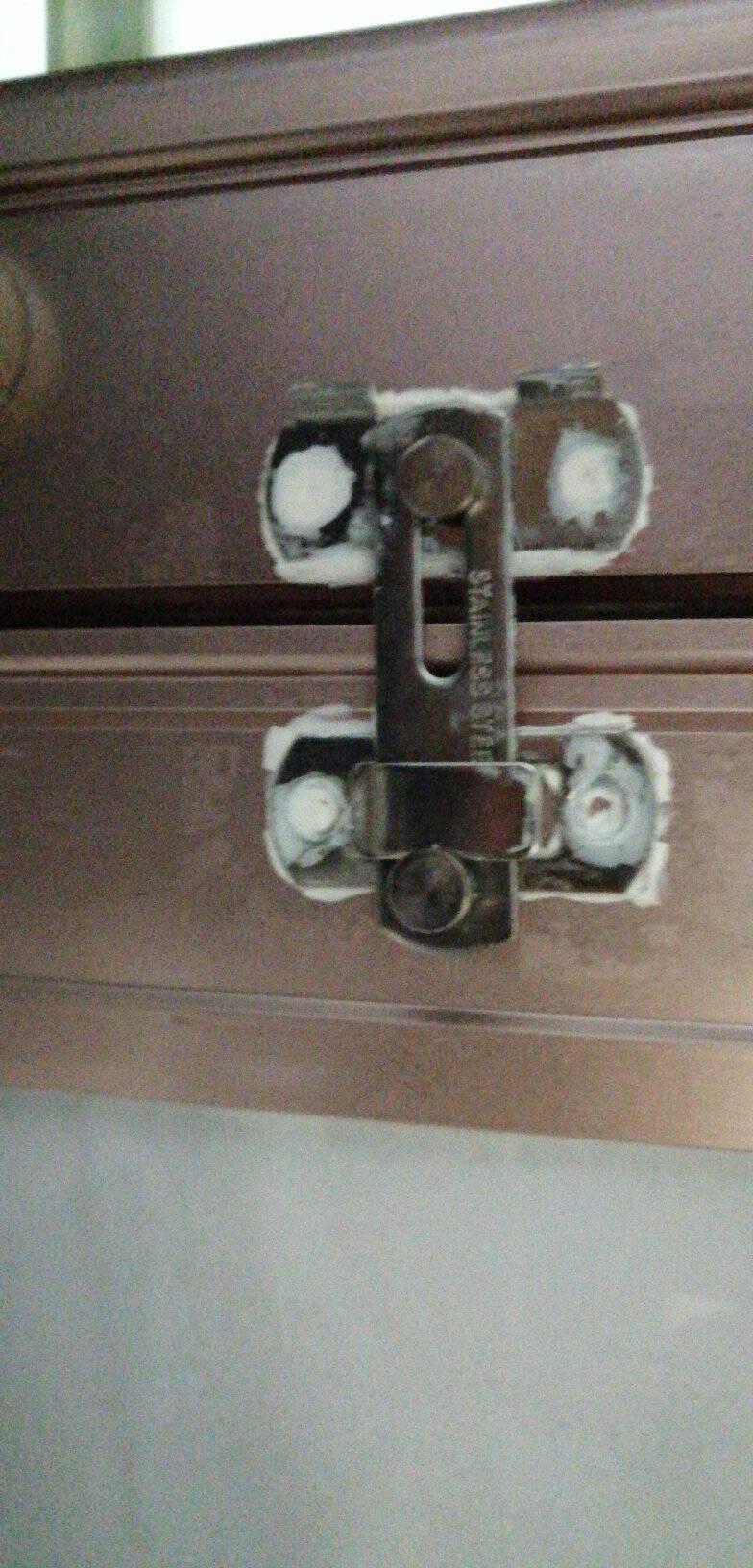 卡贝插销不锈钢推拉门锁明装门栓锁扣橱柜通用型木门窗门栓家用门简易平扣插销SK01-小小号平扣