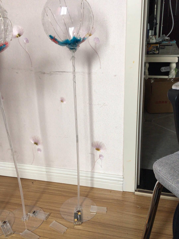 美青(MEIQING)七夕装饰网红发光波波球情人节气球生日装饰创意求婚浪漫告白道具用品派对场景布置网红发光波波球5件套