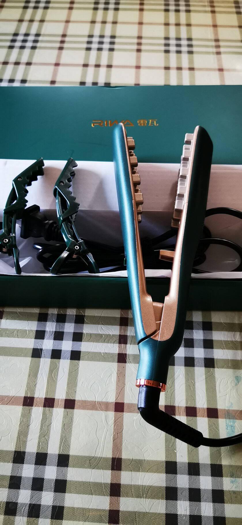 雷瓦RIWA男女通用垫发根头发蓬松夹板卷发棒玉米烫8321W绿色