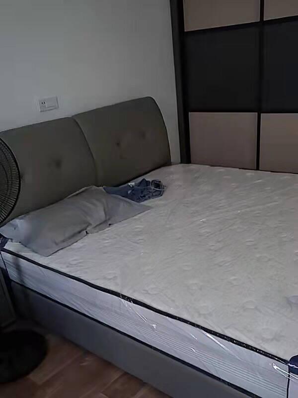 菲玛仕真皮床轻奢现代简约双人床主卧榻榻米床1.8米软床小户型真皮单床(预售定金补全尾款发货)【升级松木框架】1.8*2.0M框架结构