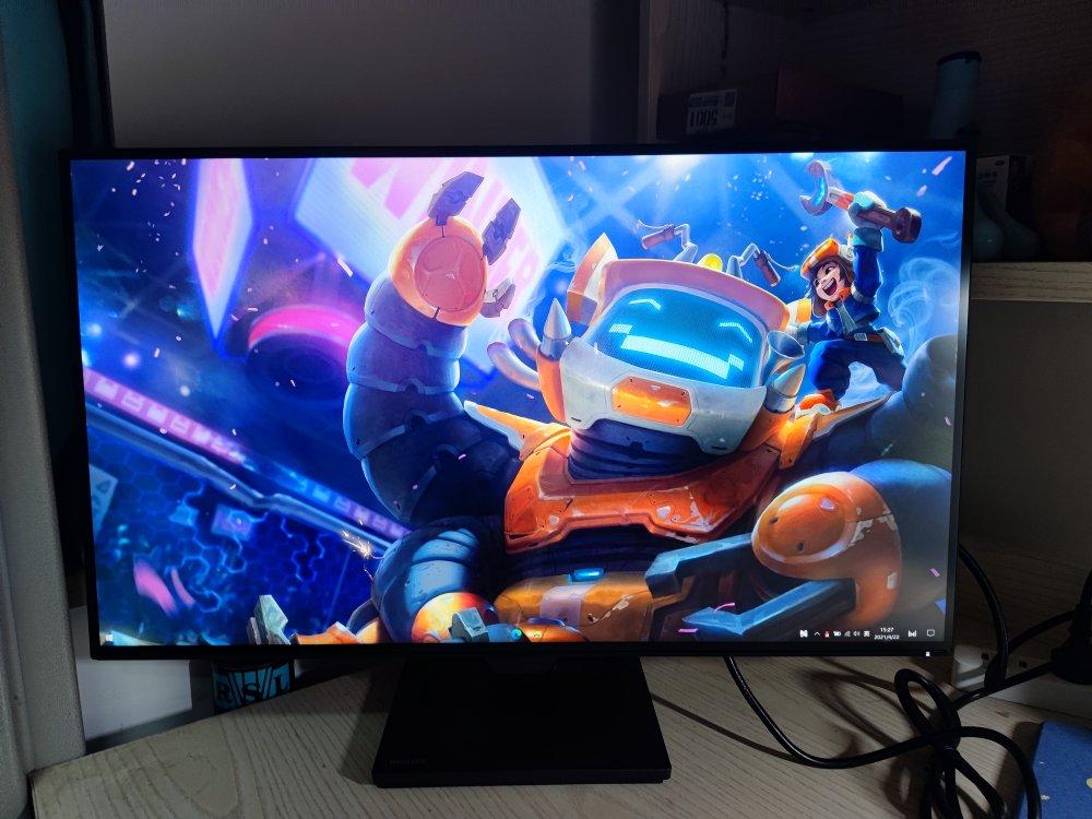 飞利浦27英寸2K高清显示器,给设计师作图用很适合