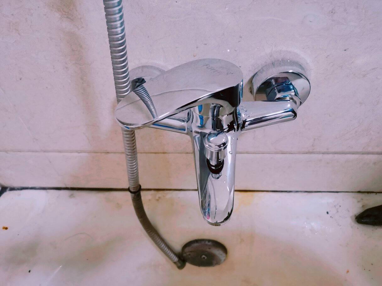 菲尔特(Fürth)全铜花洒水龙头混水阀三联浴缸淋浴龙头GBHS13