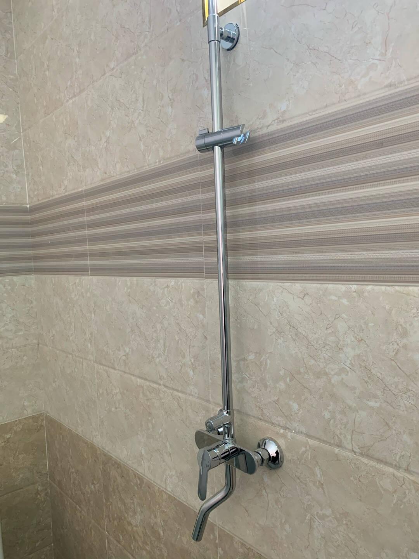 恒洁(HEGII)淋浴花洒套装全铜主体可升降增压大顶喷易除垢花洒HMF915-601EB