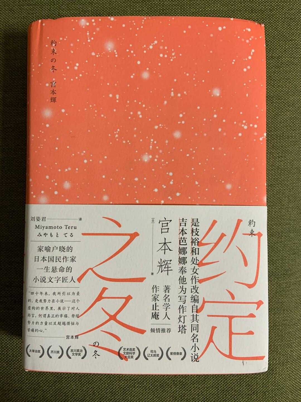约定之冬(与村上春树齐名的大师,是枝裕和、吉本芭娜娜的偶像,拿遍文学奖的日本作家宫本辉代表作)