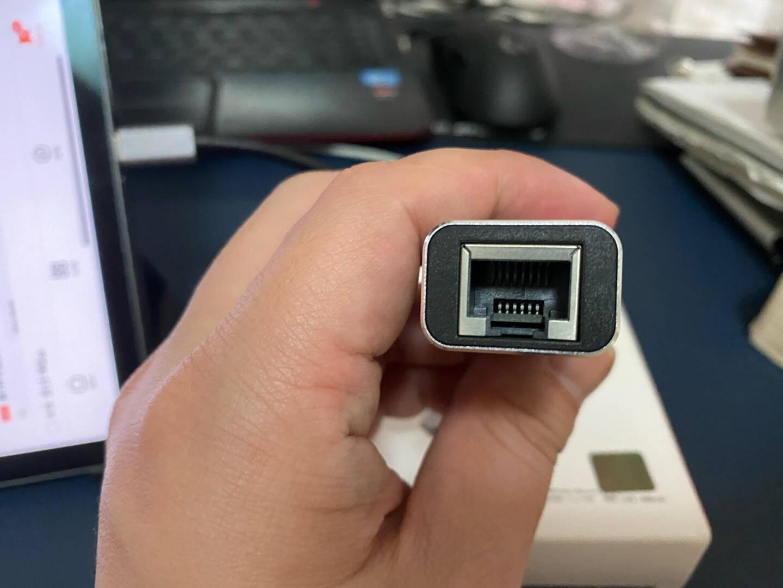 联想USB3.0千兆有线网卡转RJ45网线接口转换器usb分线器3.0转千兆网口转接头usb转网口usb网卡F1-U01