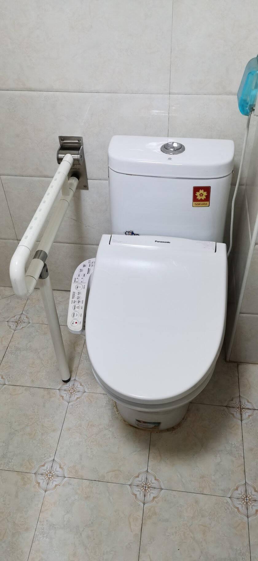莫顿(MODUN)M-9FT-WU型上翻尼龙扶手带夜光浴室卫生间厕所无障碍残疾人老人安全防滑马桶栏杆拉手