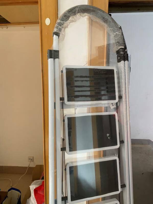 固耐奇(GUNAIQI)梯子家用折叠人字梯加厚室内四步楼梯