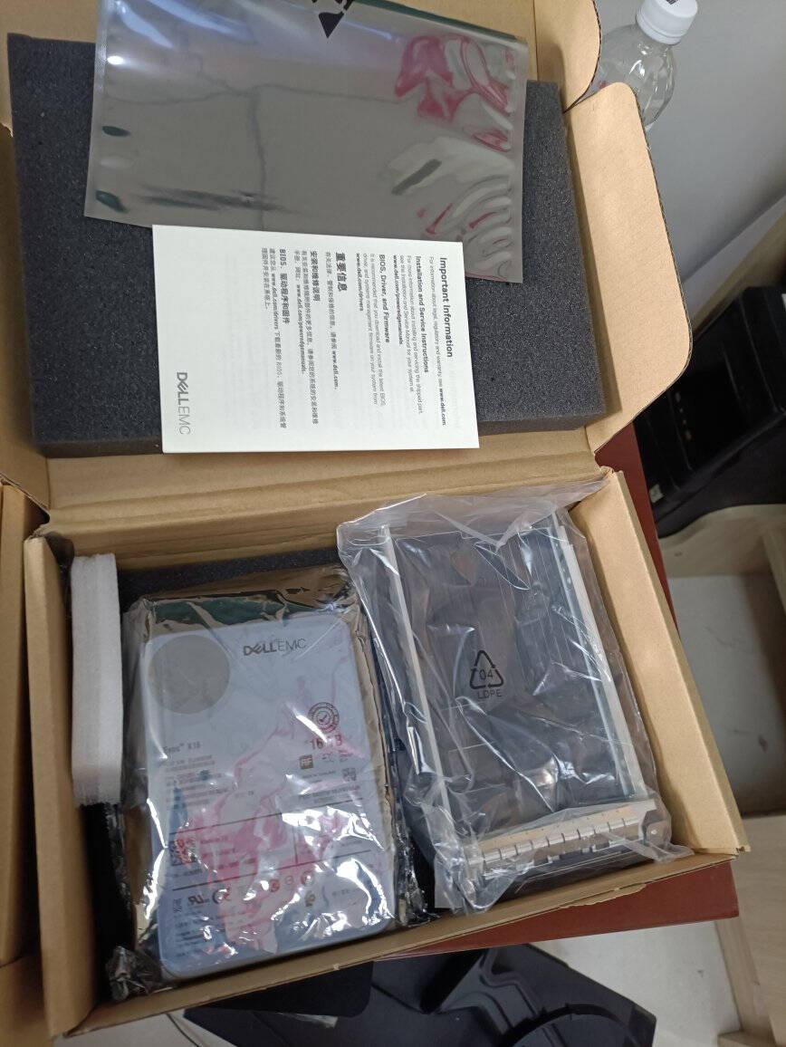 戴尔(DELL)服务器硬盘企业级NAS存储硬盘4T7.2KSAS3.5英寸