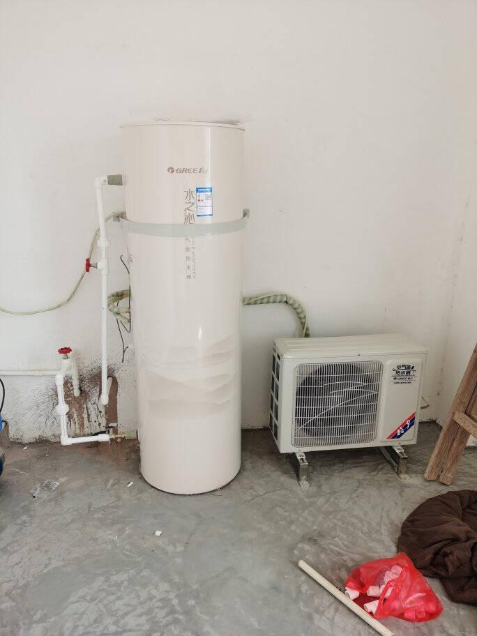 格力(GREE)水之沁空气能热水器空气源热泵热水器家用高效节能水温恒定35到55度可调200升