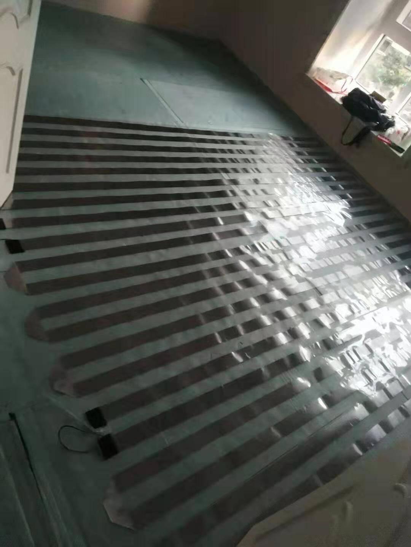 嘉恒昌电热膜电地暖家用全套设备地热系统干铺加热模块非石墨烯单片0.8*2米380W
