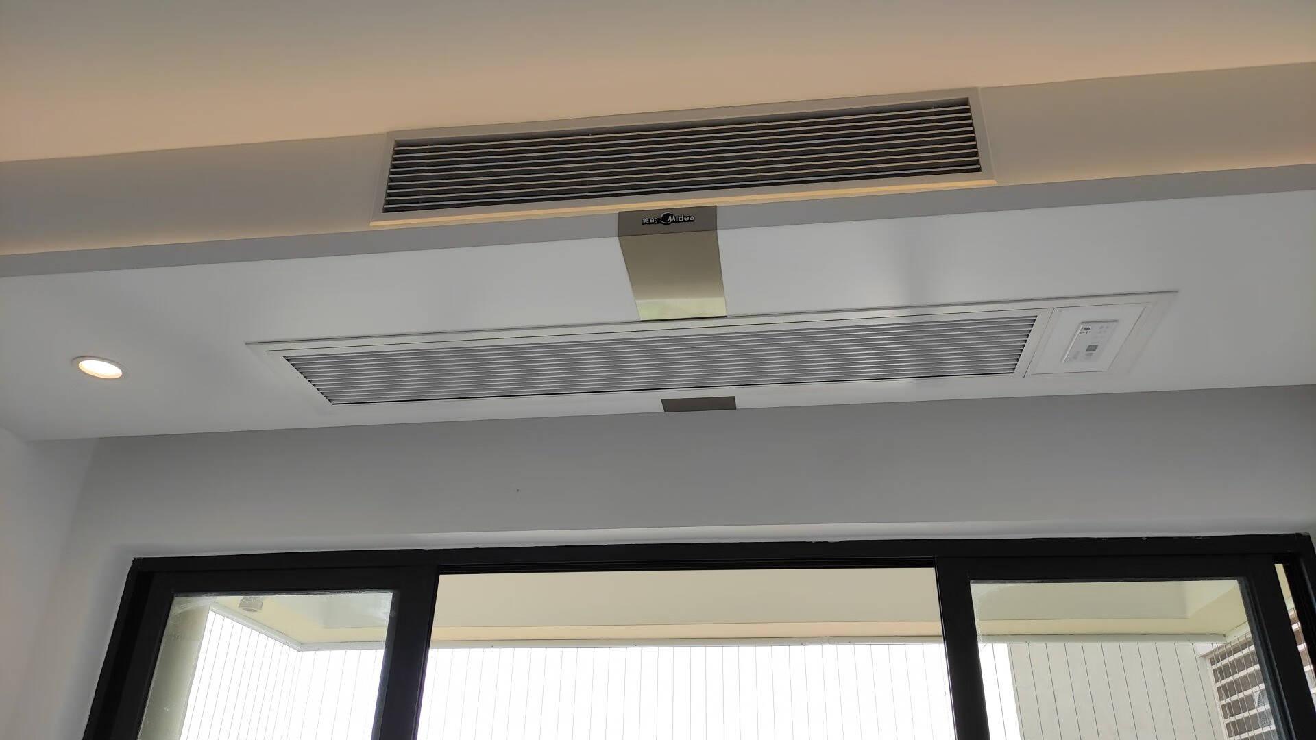 美的(Midea)空调中央空调家用商用风管机一拖一乐享BP3智能家电嵌入式全直流变频大1.5匹KFR-35T2W/BP3DN1-LX