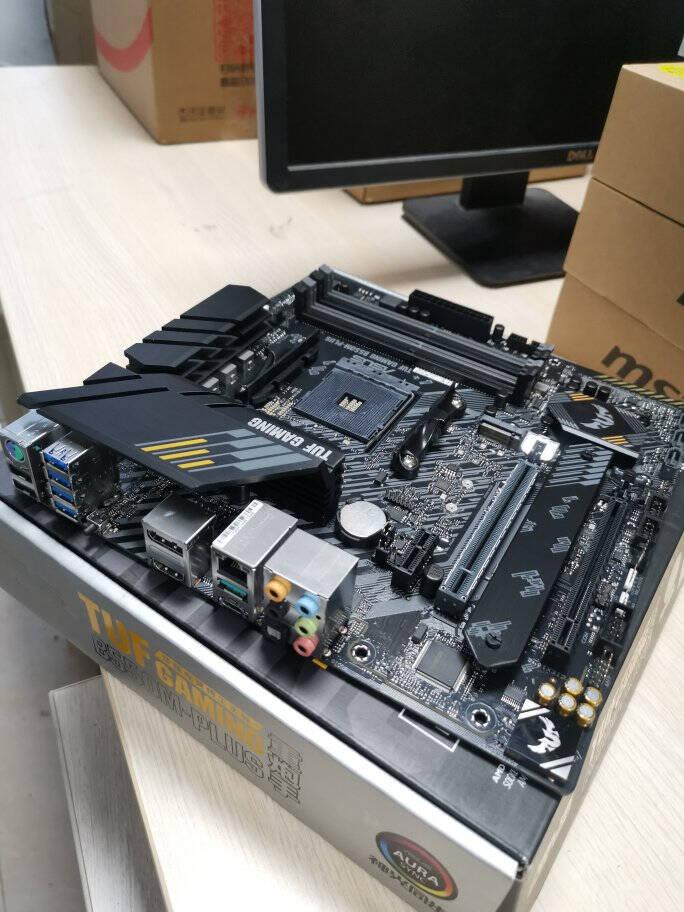 AMD锐龙五代5600X5800X5900X5950X搭华硕B550重炮手主板CPU套装华硕TUFB550MPLUSWIFI重炮手R55600X盒装CPU套装