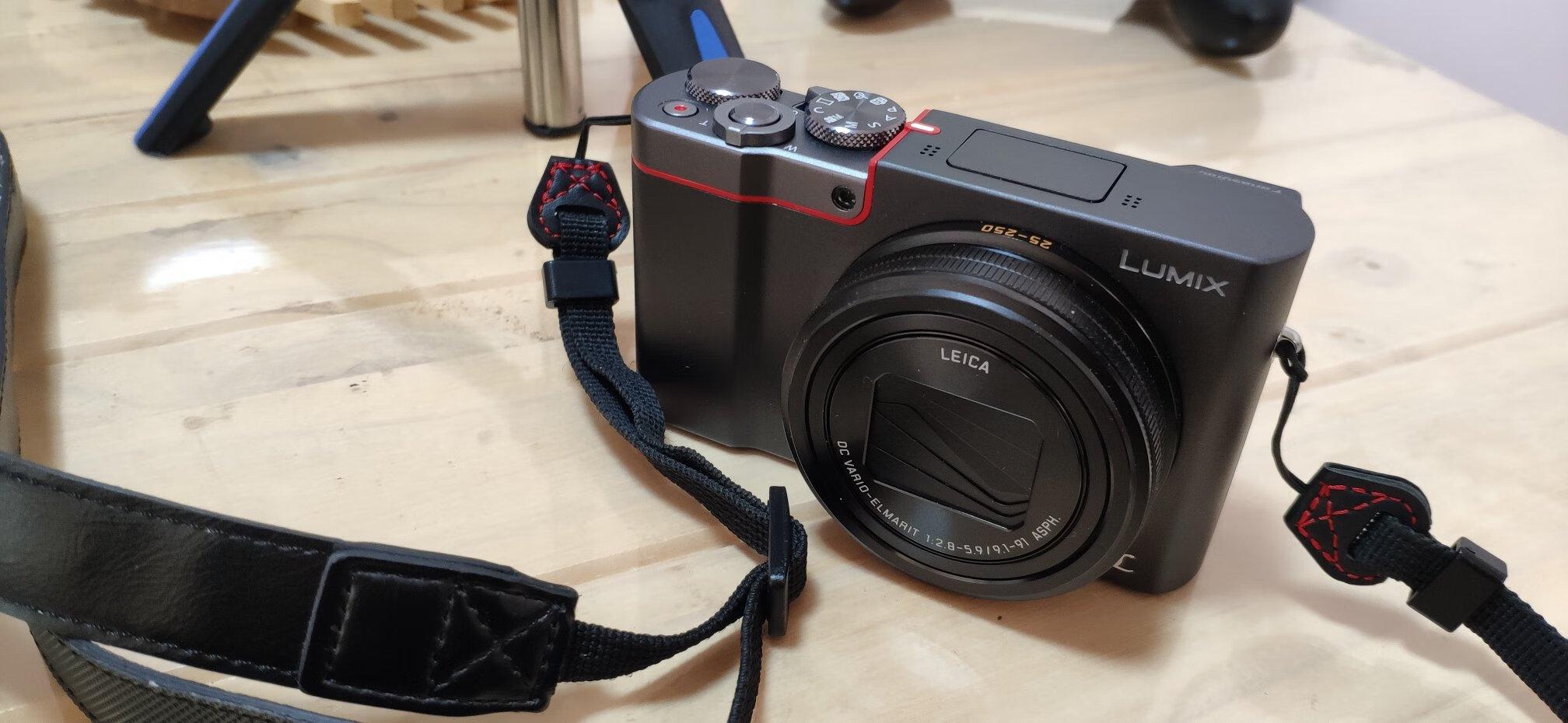 松下1英寸大底数码相机,旅游出差随身携带礼物